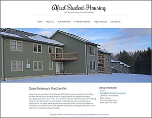 Alfred Student Housing