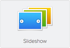 Widgetkit Slideshow Icon